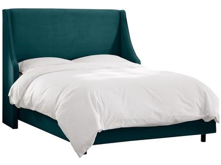 Кровать montreal (ml) зеленый 163.0x130.0x212.0 см.