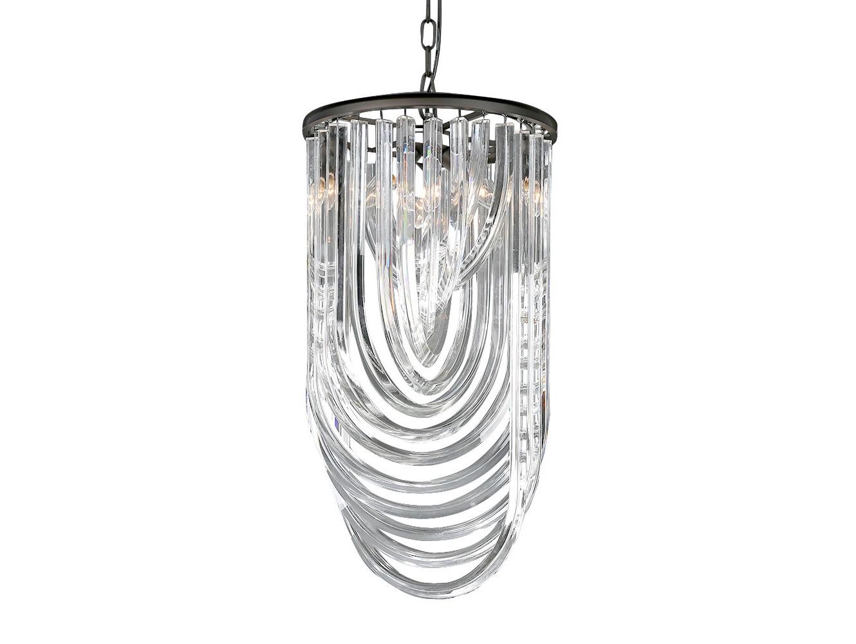 Подвесной светильникПодвесные светильники<br>Подвесной светильник на арматуре из металла черно-коричневого цвета. Плафон состоит из прозрачных хрустальных закрученных подвесок.&amp;amp;nbsp;&amp;lt;div&amp;gt;Высота светильника регулируется.&amp;lt;/div&amp;gt;&amp;lt;div&amp;gt;&amp;lt;br&amp;gt;&amp;lt;/div&amp;gt;&amp;lt;div&amp;gt;&amp;lt;div&amp;gt;Вид цоколя: E14&amp;lt;/div&amp;gt;&amp;lt;div&amp;gt;Мощность:&amp;amp;nbsp; 40W&amp;lt;/div&amp;gt;&amp;lt;div&amp;gt;Количество ламп: 3 (нет в комплекте)&amp;lt;/div&amp;gt;&amp;lt;/div&amp;gt;<br><br>Material: Хрусталь<br>Ширина см: 35.0<br>Высота см: 65.0<br>Глубина см: 35.0