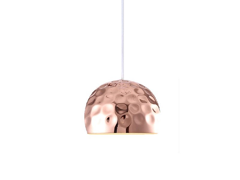 Подвесной светильникПодвесные светильники<br>Подвесной светильник выполнен из металла медного цвета. Поверхность плафона фактурная. Высота светильника регулируется.Вид цоколя: E14Мощность:&amp;nbsp; 40WКоличество ламп: 1 (нет в комплекте)<br><br>kit: None<br>gender: None