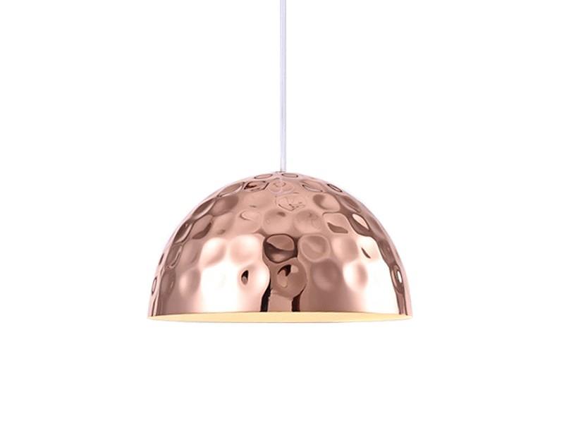 Подвесной светильникПодвесные светильники<br>Подвесной светильник выполнен из металла медного цвета. Поверхность плафона фактурная.&amp;amp;nbsp;&amp;lt;div&amp;gt;Высота светильника регулируется.&amp;lt;/div&amp;gt;&amp;lt;div&amp;gt;&amp;lt;br&amp;gt;&amp;lt;/div&amp;gt;&amp;lt;div&amp;gt;&amp;lt;div&amp;gt;Вид цоколя: E14&amp;lt;/div&amp;gt;&amp;lt;div&amp;gt;Мощность:&amp;amp;nbsp; 40W&amp;lt;/div&amp;gt;&amp;lt;div&amp;gt;Количество ламп: 1 (нет в комплекте)&amp;lt;/div&amp;gt;&amp;lt;/div&amp;gt;<br><br>Material: Металл<br>Ширина см: 30.0<br>Высота см: 16.0<br>Глубина см: 30.0