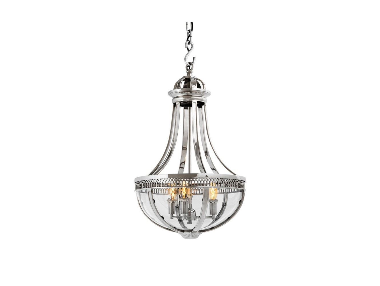 ЛюстраЛюстры<br>Подвесной 4-х рожковый светильник-латерна выполнен из никелированного металла. Створки плафона выполнены из прозрачного стекла.&amp;amp;nbsp;&amp;lt;div&amp;gt;Высота светильника регулируется.&amp;lt;/div&amp;gt;&amp;lt;div&amp;gt;&amp;lt;br&amp;gt;&amp;lt;/div&amp;gt;&amp;lt;div&amp;gt;&amp;lt;div&amp;gt;Вид цоколя: E14&amp;lt;/div&amp;gt;&amp;lt;div&amp;gt;Мощность:&amp;amp;nbsp; 40W&amp;lt;/div&amp;gt;&amp;lt;div&amp;gt;Количество ламп: 4 (нет в комплекте)&amp;lt;/div&amp;gt;&amp;lt;/div&amp;gt;<br><br>Material: Стекло<br>Ширина см: 43.0<br>Высота см: 75.0<br>Глубина см: 43.0