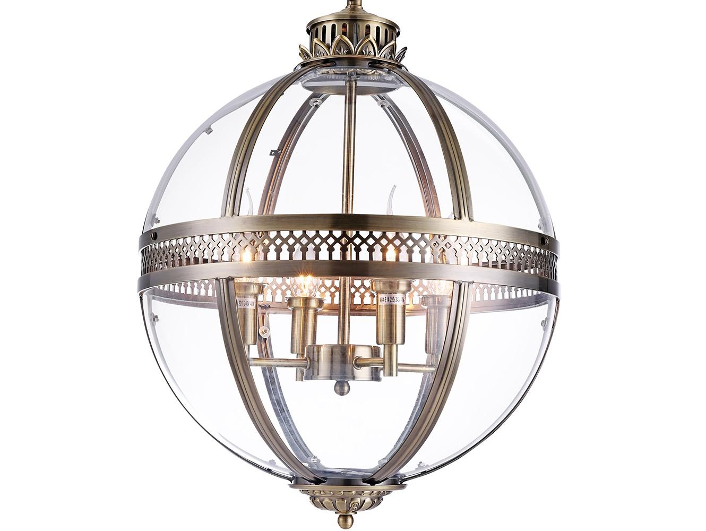 ЛюстраЛюстры подвесные<br>Подвесной 4-х рожковый светильник-латерна выполнен из металла цвета античная латунь. Створки плафона выполнены из прозрачного стекла.&amp;amp;nbsp;&amp;lt;div&amp;gt;Высота светильника регулируется.&amp;lt;/div&amp;gt;&amp;lt;div&amp;gt;&amp;lt;br&amp;gt;&amp;lt;/div&amp;gt;&amp;lt;div&amp;gt;&amp;lt;div&amp;gt;Вид цоколя: E14&amp;lt;/div&amp;gt;&amp;lt;div&amp;gt;Мощность:&amp;amp;nbsp; 40W&amp;lt;/div&amp;gt;&amp;lt;div&amp;gt;Количество ламп: 4 (нет в комплекте)&amp;lt;/div&amp;gt;&amp;lt;/div&amp;gt;<br><br>Material: Стекло<br>Ширина см: 43.0<br>Высота см: 63.0<br>Глубина см: 43.0