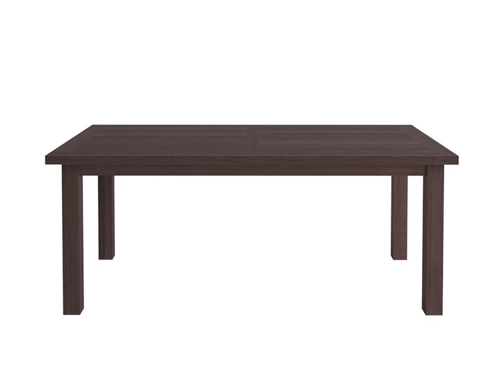 Обеденный стол TenerifeСтолы и столики для сада<br>Обеденный стол из коллекции &amp;quot;Tenerife&amp;quot;.&amp;amp;nbsp;&amp;lt;div&amp;gt;Выполнен из термированного массива бука.&amp;amp;nbsp;&amp;lt;/div&amp;gt;&amp;lt;div&amp;gt;Цвет - коричневый.&amp;amp;nbsp;&amp;lt;/div&amp;gt;<br><br>Material: Бук<br>Ширина см: 190.0<br>Высота см: 75.0<br>Глубина см: 98.0