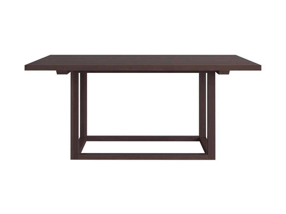 Обеденный стол PalermoСтолы и столики для сада<br>Обеденный стол из коллекции Palermo.&amp;nbsp;Выполнен из термированного массива бука.&amp;nbsp;Цвет - коричневый.&amp;nbsp;<br><br>kit: None<br>gender: None