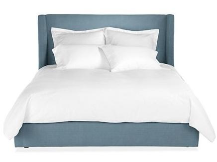 Кровать north end (ml) синий 203.0x120.0x212.0 см.