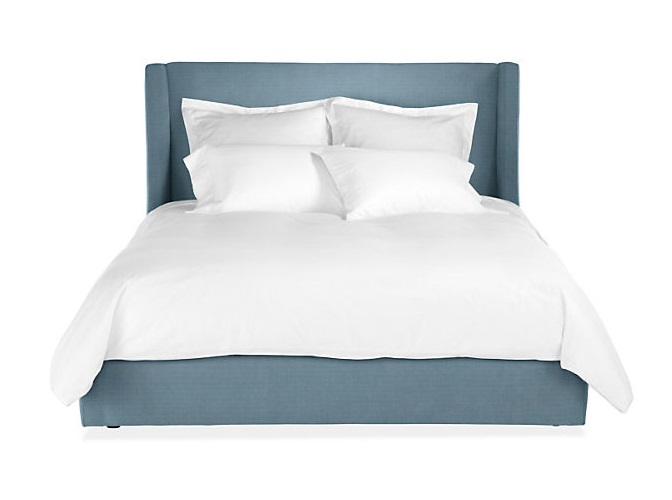 Кровать north end (ml) синий 223.0x120.0x212.0 см. фото