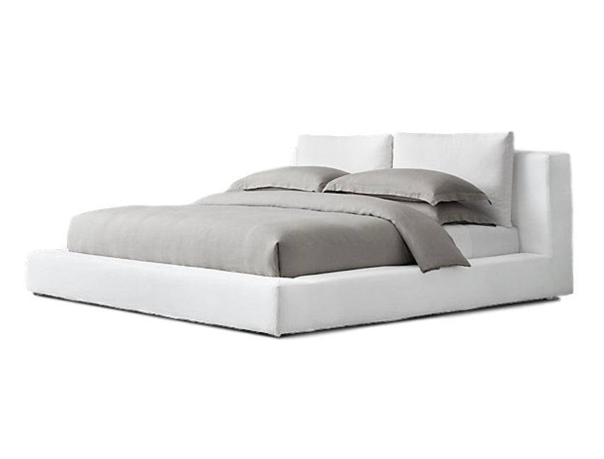 Кровать cloud (ml) белый 230.0x92.0x250.0 см. фото