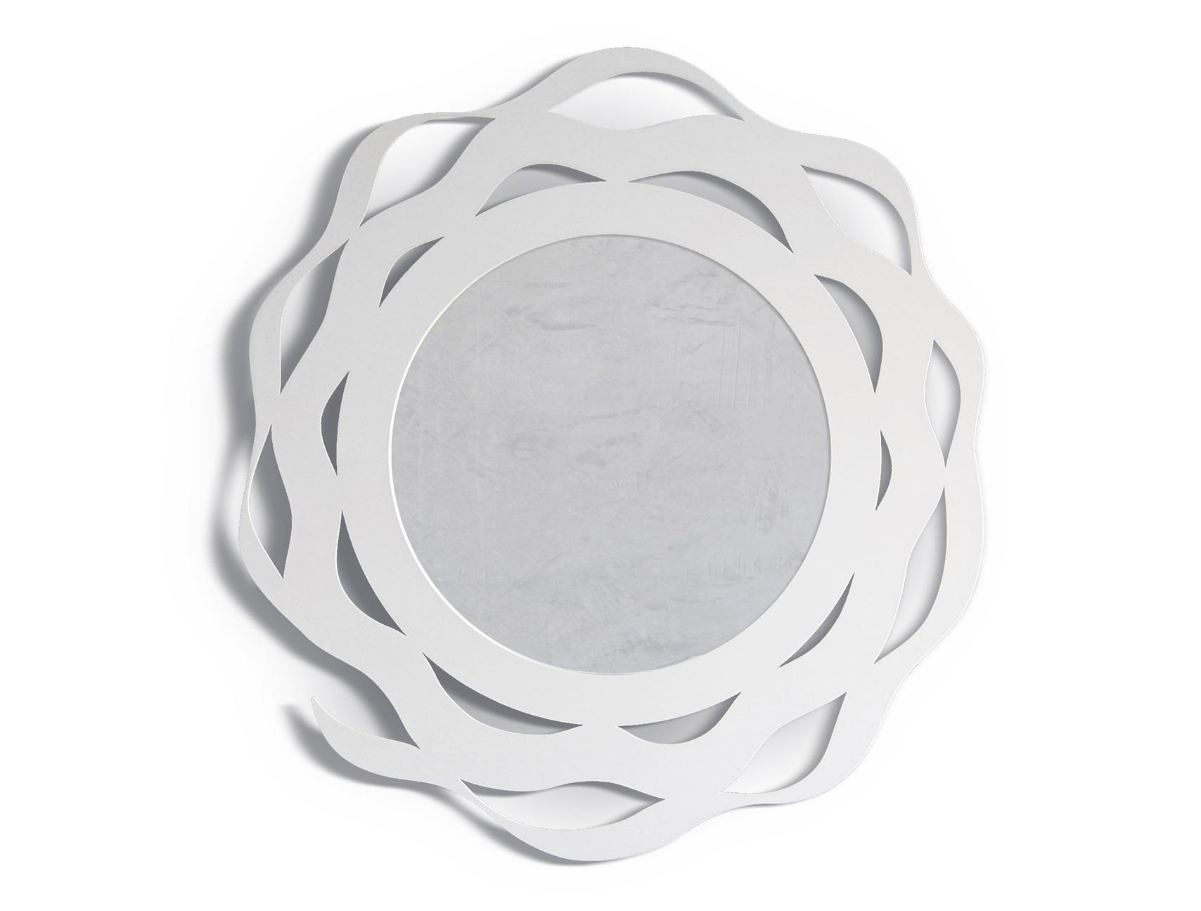 Зеркало SplashНастенные зеркала<br>Зеркало SPLASH отличается уникальным, <br>минималистическим дизайном. Такой предмет интерьера станет стильной <br>деталью в интерьере гастиной или спальни.<br><br>Material: Сталь<br>Глубина см: 1.0