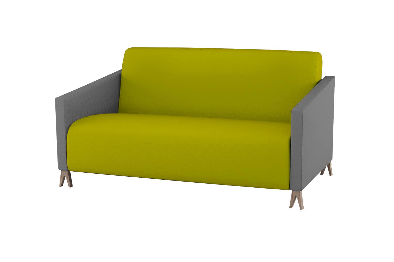 Двухместный диван sova (woodi) зеленый 156.0x91.0x91.0 см. фото