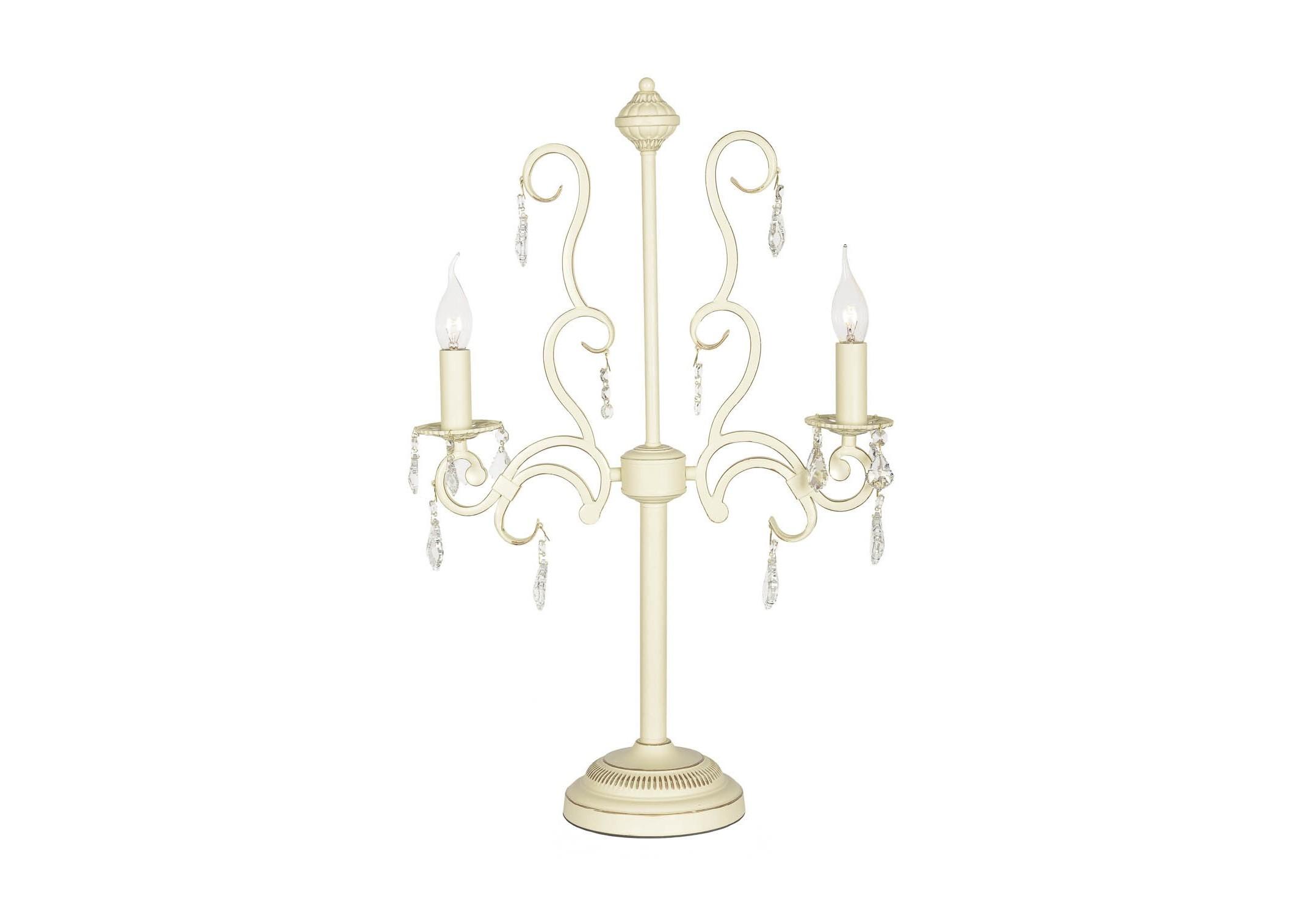 Настольная лампа (arti lampadari) бежевый 70.0 см. фото