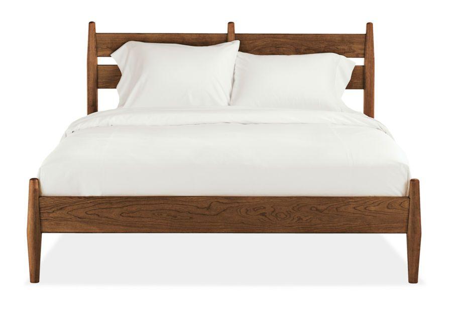Кровать 1950sДеревянные кровати<br>Такая добротная кровать подойдет скандинавскому интерьеру, который традиционно славится своей функциональностью и минимализмом. Изголовье оформлено массивными линиями, точеные ножки придают облику строгости. Модель выполнена из натурального массива дуба, что еще больше подчеркивает ее природную естественность. Слегка аскетичный дизайн совершенно не умаляет достоинств этого предмета мебели.&amp;nbsp;Размеры спального места:&amp;nbsp;140*200&amp;nbsp; - представлено&amp;nbsp;160*200180*200200*200Высота изголовья - 120см, высота изножья - 40см&amp;nbsp;Ламели и матрас не входят в стоимость.<br><br>kit: None<br>gender: None