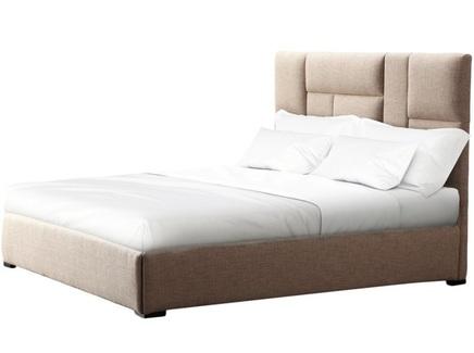 Кровать hattan (ml) бежевый 190.0x130.0x212.0 см.