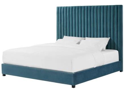 Мягкая кровать erwin (myfurnish) зеленый 196x130x212 см.
