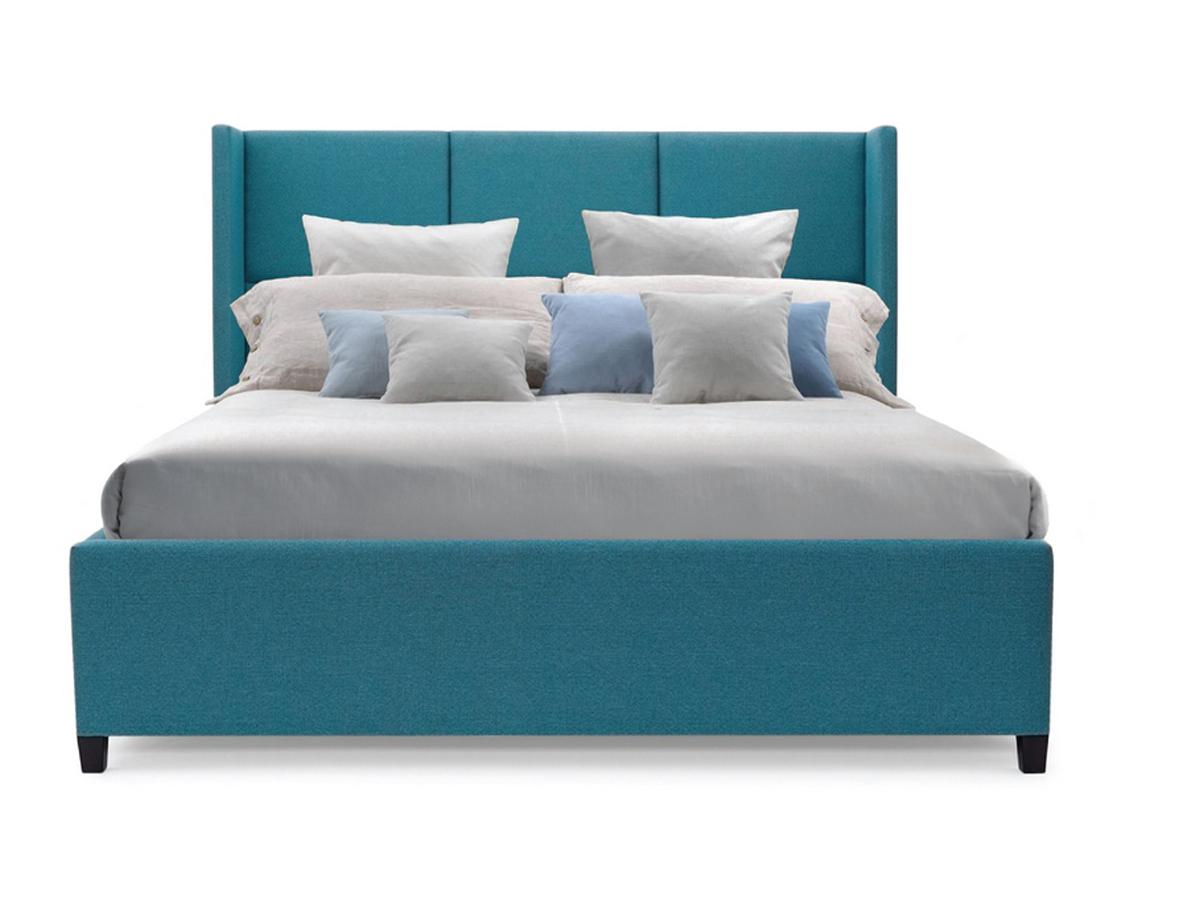Мягкая кровать boston (myfurnish) бирюзовый 163.0x130.0x212.0 см. фото