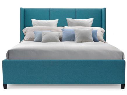 Мягкая кровать boston (myfurnish) бирюзовый 223.0x130.0x212.0 см.