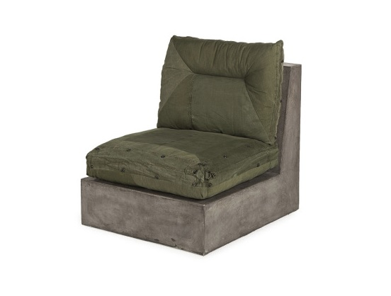 Кресло Concrete Corner ChairПолукресла<br><br><br>Material: Текстиль<br>Ширина см: 70<br>Высота см: 72<br>Глубина см: 80