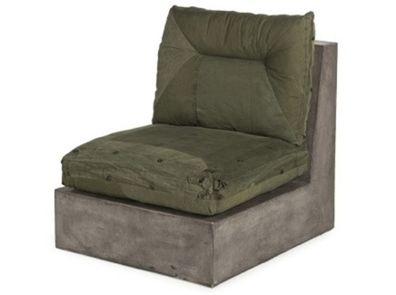 "Кресло ""Concrete Corner Chair"""