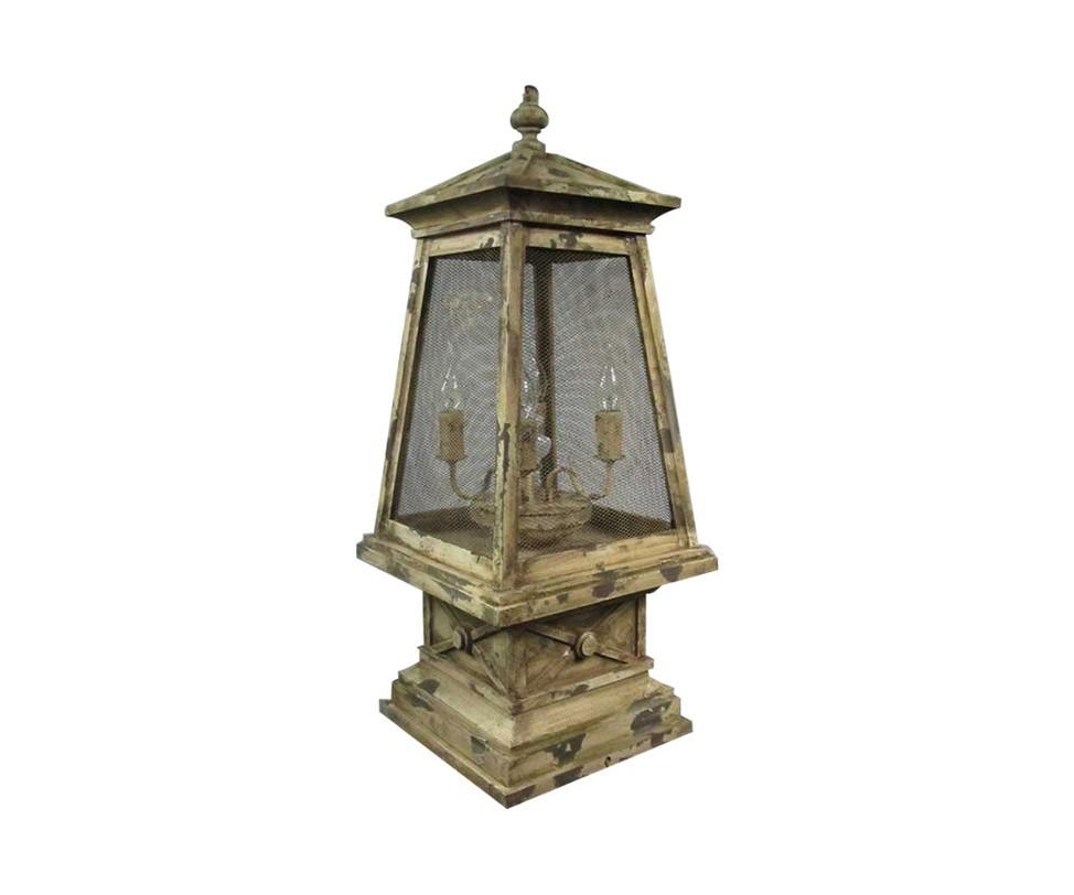 Настольная лампа Camp Table LampДекоративные лампы<br>&amp;quot;Аптека, улица, фонарь&amp;quot;... Привнесите больше поэтической лирики в интерьер винтажной гостиной или спальни с лампой&amp;amp;nbsp;&amp;quot;Camp Table Lamp&amp;quot;. Напоминающая старинные уличные фонари, освещавшие дорогу влюбленным в эпоху Серебряного века, она завораживает своим романтизмом. Чарующая и удивительно элегантная, эта лампа одаривает пространство особой восторженностью и сентиментальностью.&amp;amp;nbsp;&amp;lt;div&amp;gt;&amp;lt;br&amp;gt;&amp;lt;/div&amp;gt;&amp;lt;div&amp;gt;&amp;lt;div&amp;gt;&amp;lt;span style=&amp;quot;line-height: 1.78571429;&amp;quot;&amp;gt;Количество лампочек: 4&amp;lt;/span&amp;gt;&amp;lt;/div&amp;gt;&amp;lt;div&amp;gt;&amp;lt;span style=&amp;quot;line-height: 1.78571429;&amp;quot;&amp;gt;Мощность: 60 Вт&amp;lt;/span&amp;gt;&amp;lt;/div&amp;gt;&amp;lt;div&amp;gt;&amp;lt;span style=&amp;quot;line-height: 1.78571429;&amp;quot;&amp;gt;Тип цоколя: E27&amp;lt;/span&amp;gt;&amp;lt;/div&amp;gt;&amp;lt;/div&amp;gt;<br><br>Material: Железо<br>Ширина см: 33.0<br>Высота см: 60.0<br>Глубина см: 33.0