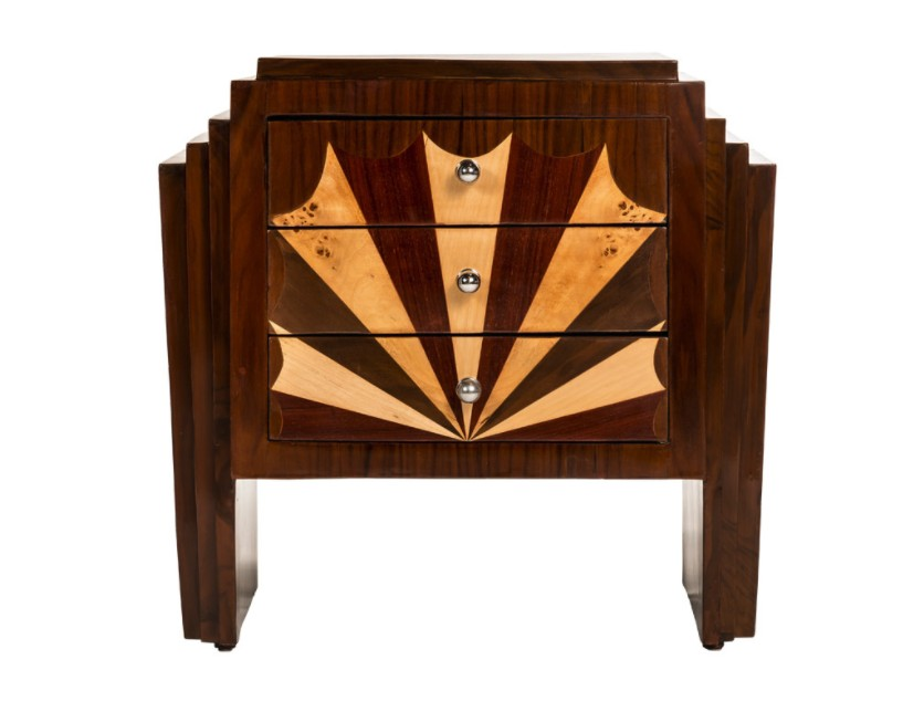 Прикроватная тумба Art Deco NightstandПрикроватные тумбы<br><br><br>Material: Дерево