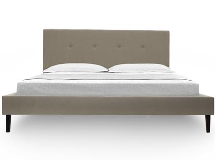 Кровать kyle (ml) бежевый 170.0x100.0x212.0 см.