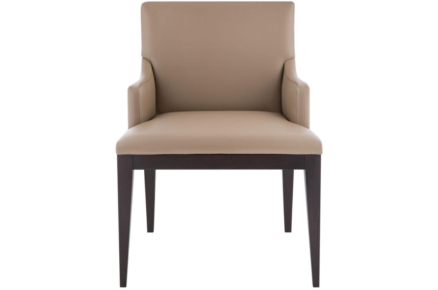 Стул с подлокотникамиОбеденные стулья<br><br><br>Material: Кожа<br>Ширина см: 61.0<br>Высота см: 88.0<br>Глубина см: 58.0
