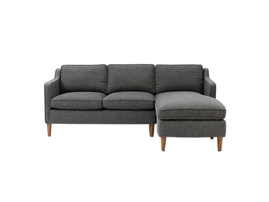Myfurnish угловой диван bel air серый  82337/9