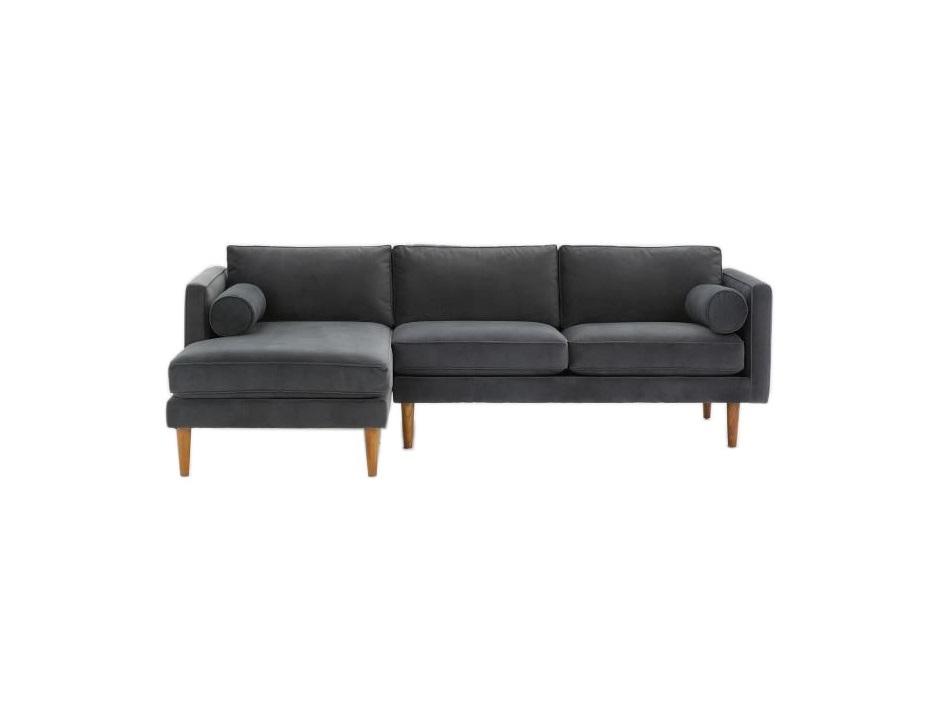 Угловой диван Blues (темный)Угловые диваны<br>&amp;quot;Blues&amp;quot; получился воздушным и элегантно уточненным. Именно таким, каким мы его себе и представляли. Выполненный в скандинавском стиле, этот интерьерообразующий диван обладает низким профилем и занимает мало места.&amp;amp;nbsp;&amp;lt;div&amp;gt;&amp;lt;br&amp;gt;&amp;lt;/div&amp;gt;&amp;lt;div&amp;gt;Ножки выполнены из дуба или бука.&amp;lt;div&amp;gt;Более 200 цветов ткани на выбор.&amp;lt;/div&amp;gt;&amp;lt;/div&amp;gt;&amp;lt;div&amp;gt;Угол выбирается при заказе.&amp;lt;br&amp;gt;&amp;lt;/div&amp;gt;&amp;lt;div&amp;gt;&amp;lt;br&amp;gt;&amp;lt;/div&amp;gt;<br><br>Material: Текстиль<br>Ширина см: 215<br>Высота см: 76<br>Глубина см: 147