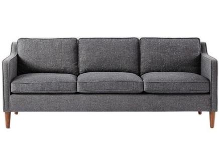Диван bel air (myfurnish) серый 200x80x90 см.