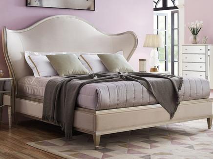 Кровать с решеткой rimini (fratelli barri) бежевый