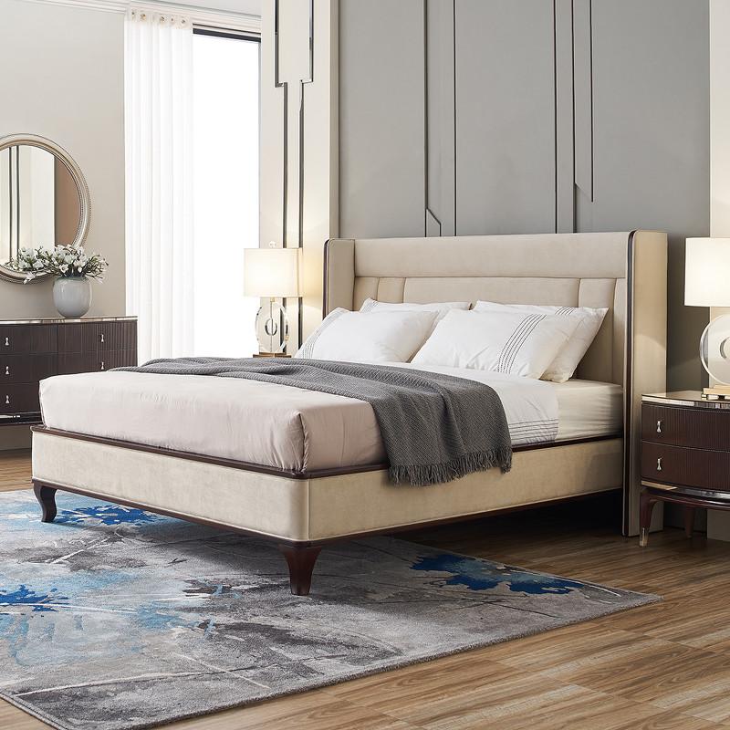 Кровать с решеткой RiminiКровати с мягким изголовьем<br>Кровать на изогнутых ножках выполнена в стиле ар-деко из высококачественного МДФ высокой плотности и массива дерева. Загнутое изголовье декорировано стежкой.&amp;amp;nbsp;&amp;lt;div&amp;gt;&amp;lt;br&amp;gt;&amp;lt;/div&amp;gt;&amp;lt;div&amp;gt;Размер спального места 180*200 см.&amp;amp;nbsp;&amp;lt;/div&amp;gt;&amp;lt;div&amp;gt;Поставляется без матраса и без постельных принадлежностей.&amp;lt;/div&amp;gt;<br><br>Material: Текстиль<br>Ширина см: 214<br>Высота см: 135<br>Глубина см: 217