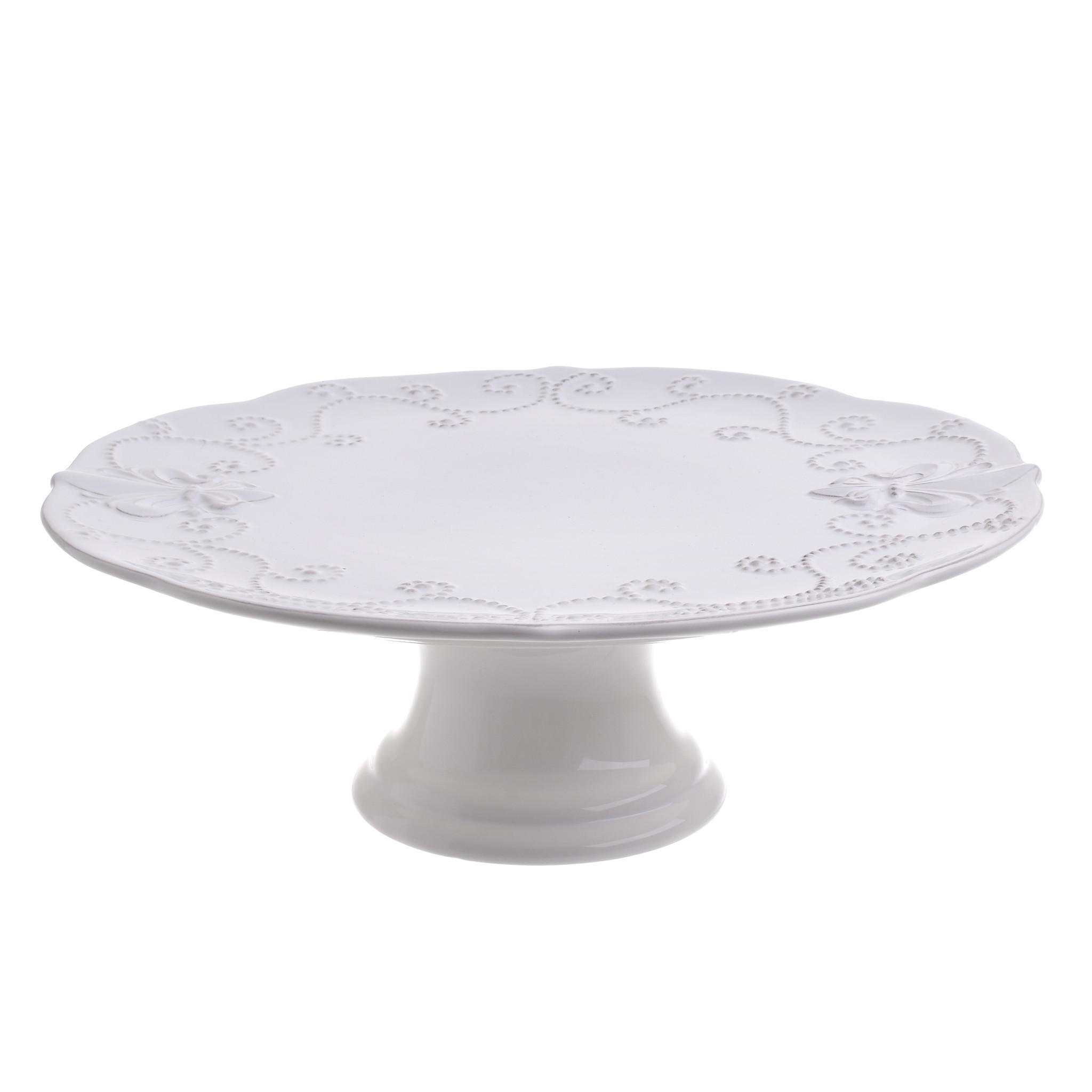 Подставка для торта PhilomelaПодставки и доски<br><br><br>Material: Керамика<br>Высота см: 8