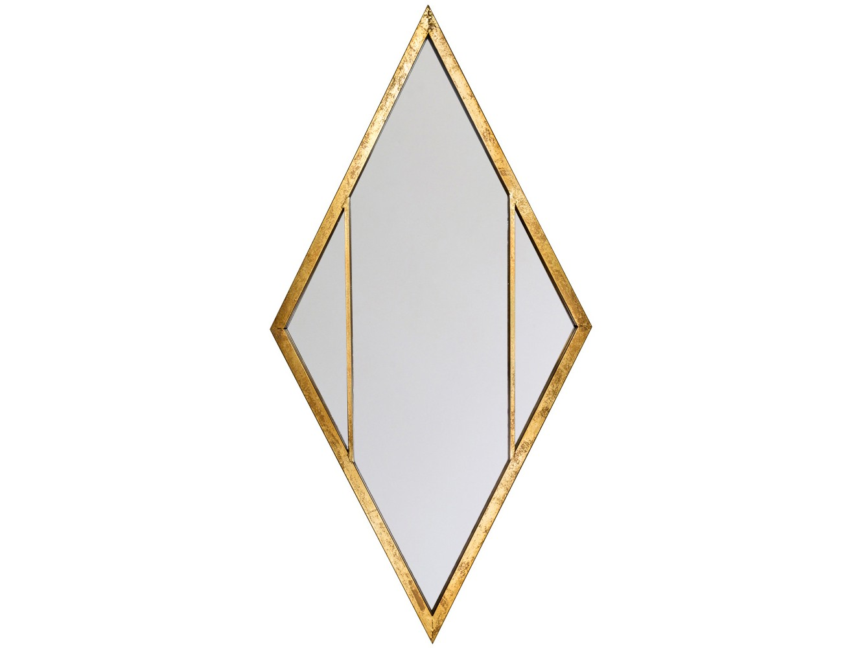 Настенное зеркало СанториниНастенные зеркала<br>Одним из достоинств зеркала &amp;quot;Санторини&amp;quot; является его двухстороннее крепление. Просторные зеркала и тонкие оправы обладают свойством углублять пространства. В зависимости от планировки, Вы сможете либо &amp;quot;раздвинуть&amp;quot; простор помещения, либо &amp;quot;приподнять&amp;quot; потолок. Оптический эффект задают две изящные поперечные рейки, подчеркивающие зеркальную стройность и легкость.<br><br>Material: Металл<br>Ширина см: 61.0<br>Высота см: 116.0<br>Глубина см: 2.5