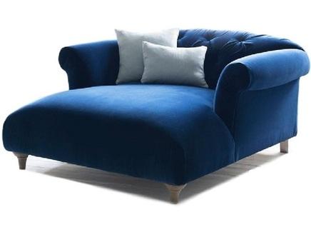 Кушетка diva (myfurnish) синий 79x69x145 см.