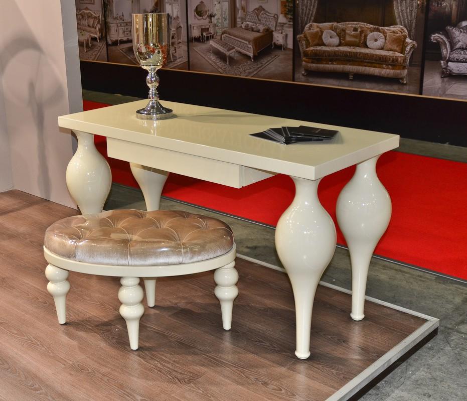 Туалетный столик palermo (fratelli barri) белый 140.0x76.0x62.0 см.