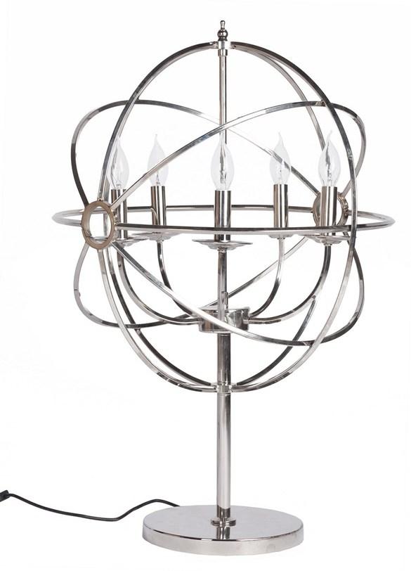 Настольная лампа Foucaults OrbДекоративные лампы<br>Цоколь: E14<br>Мощность: 40W<br><br>Material: Сталь<br>Width см: 53<br>Height см: 77