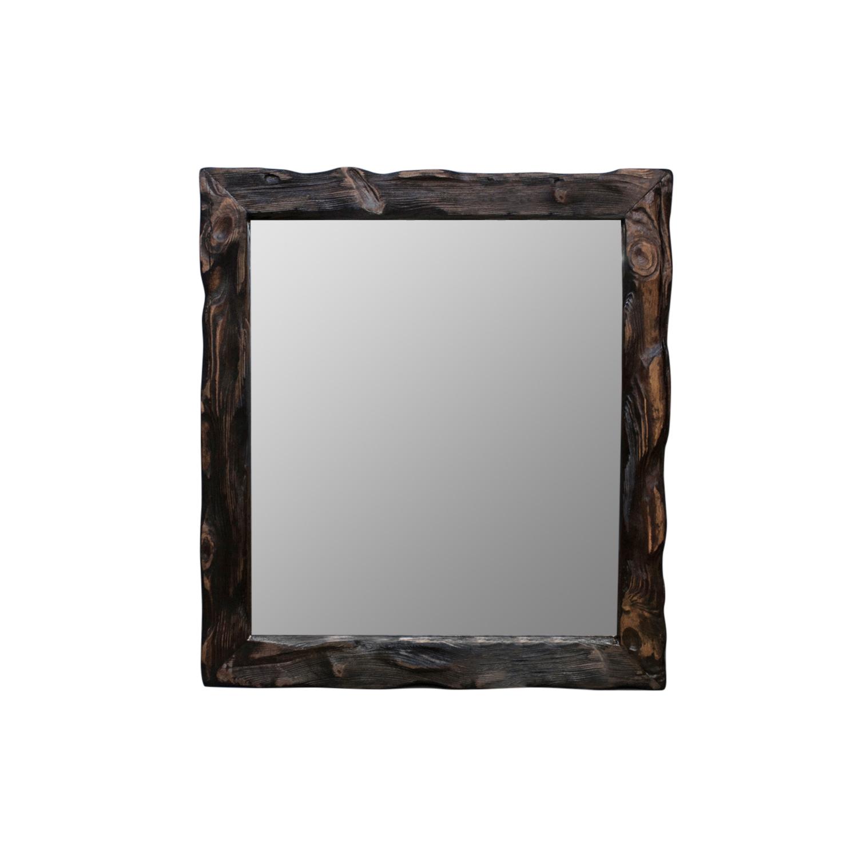 Зеркало CubeНастенные зеркала<br>Стильное зеркало от российской мастерской RuWoo, выполненное вручную из состаренной древесины, гармонично дополняет любой интерьер. Натуральные материалы и индивидуальность каждого изделия добавит уюта в Ваш дом.<br><br>kit: None<br>gender: None