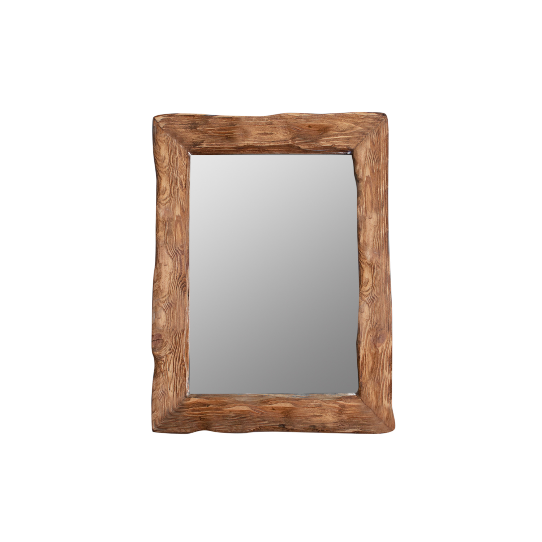 Зеркало cube (ruwoo) коричневый 45.0x60.0x10.0 см. фото