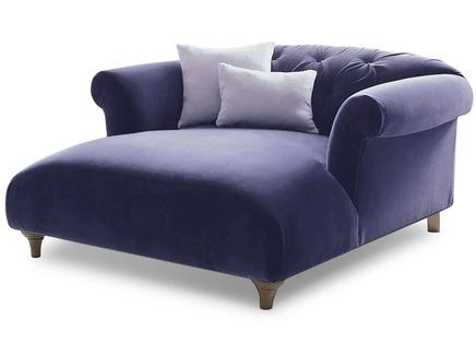 Кушетка diva (myfurnish) фиолетовый 125.0x69x145 см.