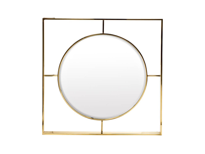 ЗеркалоНастенные зеркала<br><br><br>Material: Металл<br>Ширина см: 80.0<br>Высота см: 80.0