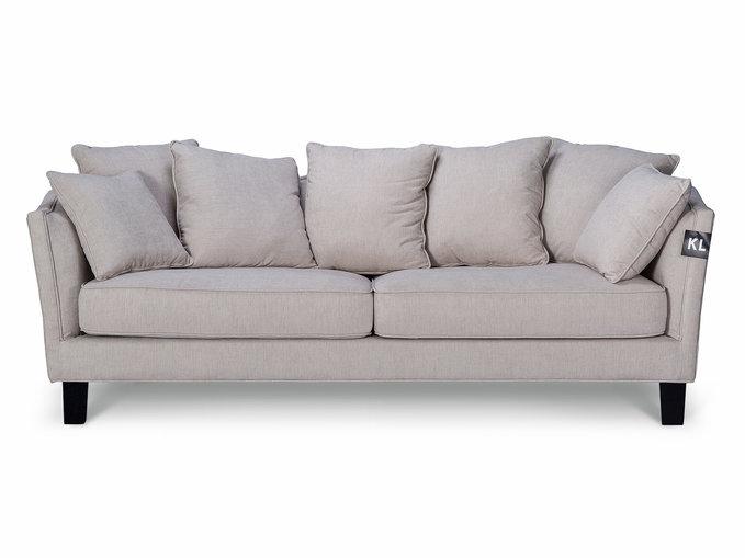 Диван MyHomeДвухместные диваны<br>Стильный диван MyHome прекрасно впишется в любой интерьер, добавит уют и комфорт. Мягкие подушки входят в комплект.<br><br>Material: Текстиль<br>Высота см: 87<br>Глубина см: 88
