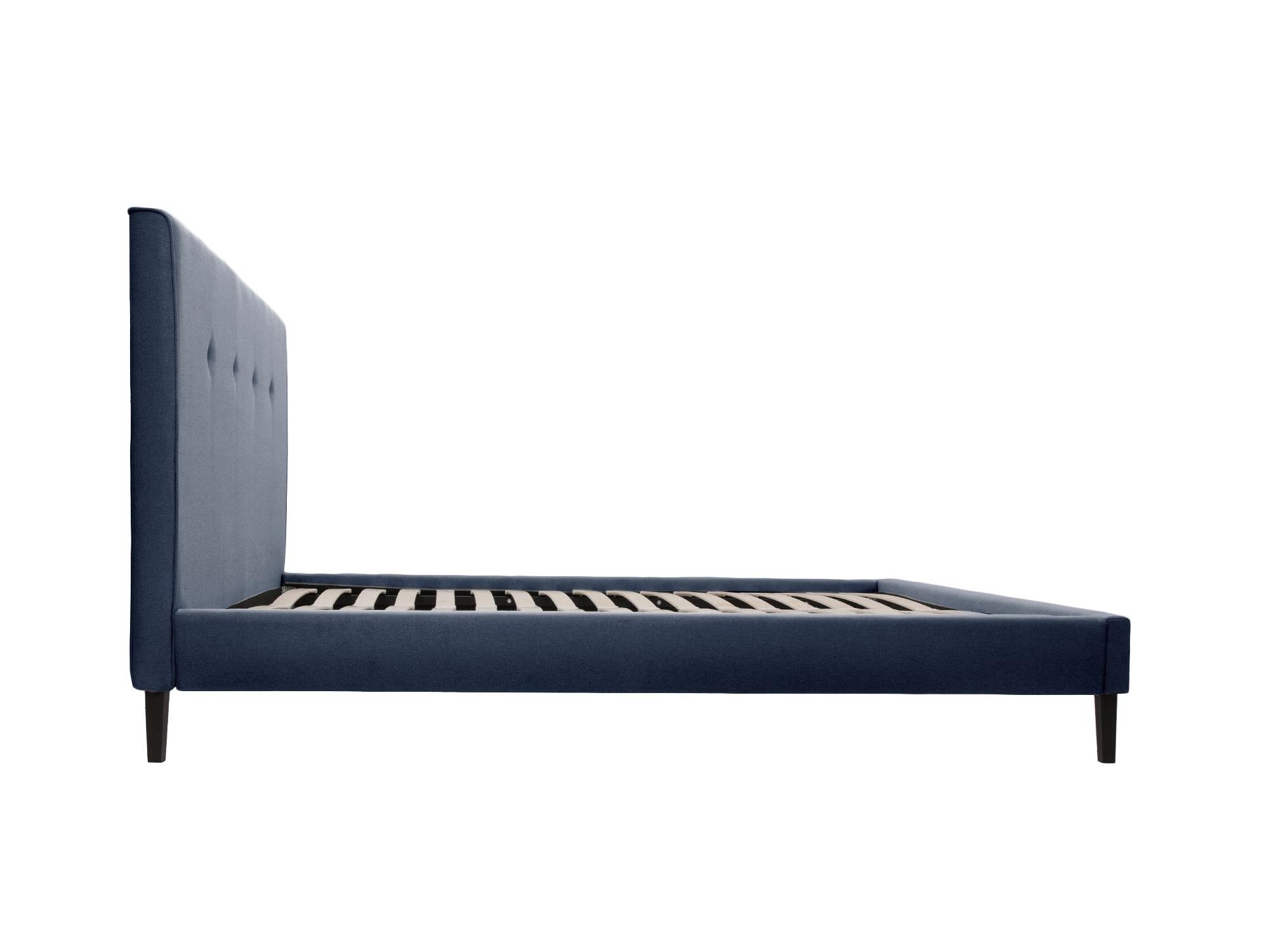 Кровать kyle (ml) синий 190.0x100.0x212.0 см. фото