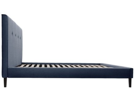 Кровать kyle (ml) синий 190.0x100.0x212.0 см.
