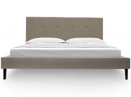 Кровать kyle (ml) бежевый 190.0x100.0x212.0 см.