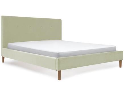 Кровать kyle (оливковый) (ml) зеленый 150.0x100.0x212.0 см.
