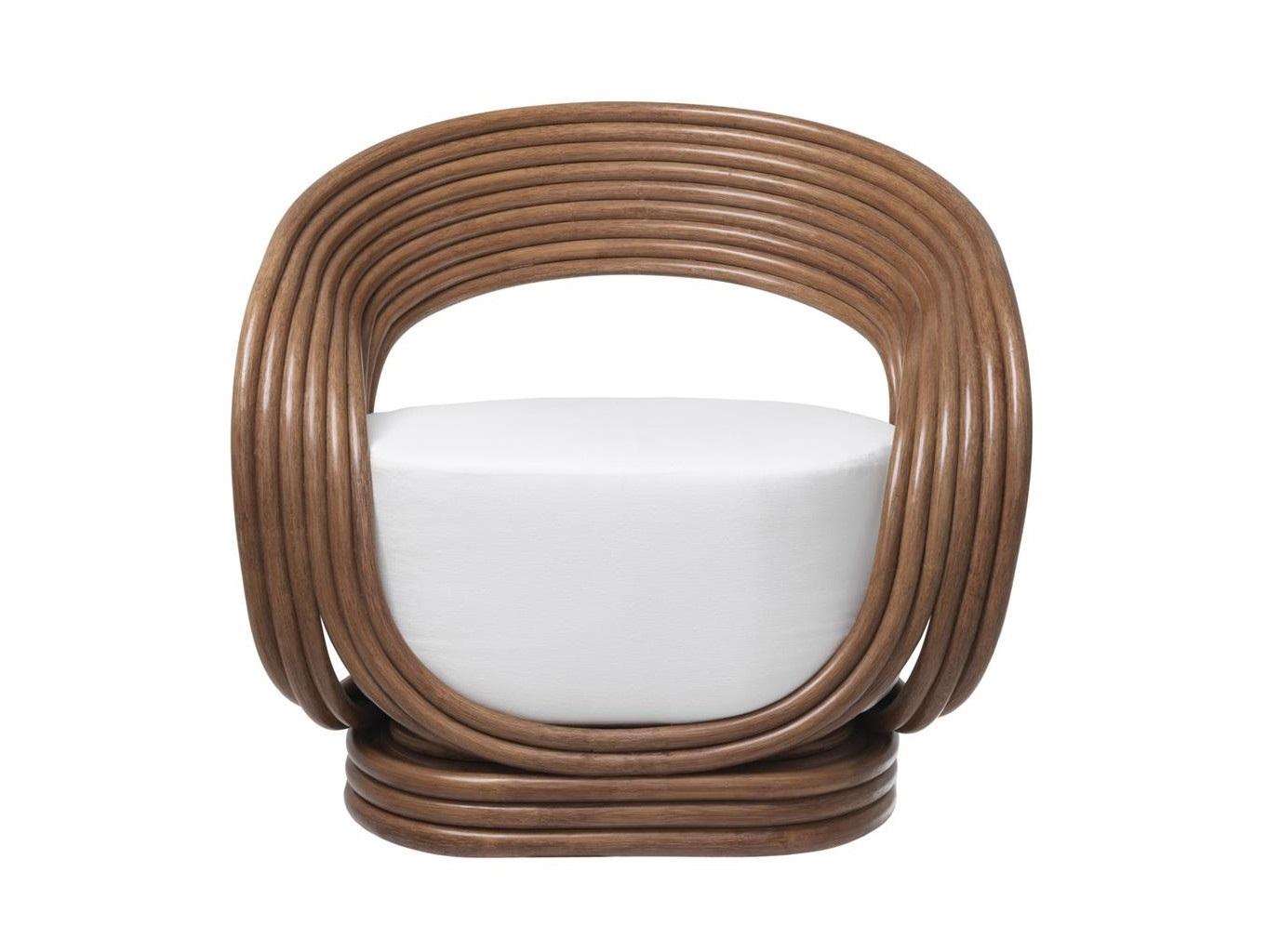 Кресло RomeoКресла для сада<br>Материал: натуральный ротанг, 100% хлопок<br><br>Material: Ротанг<br>Ширина см: 90.0<br>Высота см: 82.0<br>Глубина см: 72.0