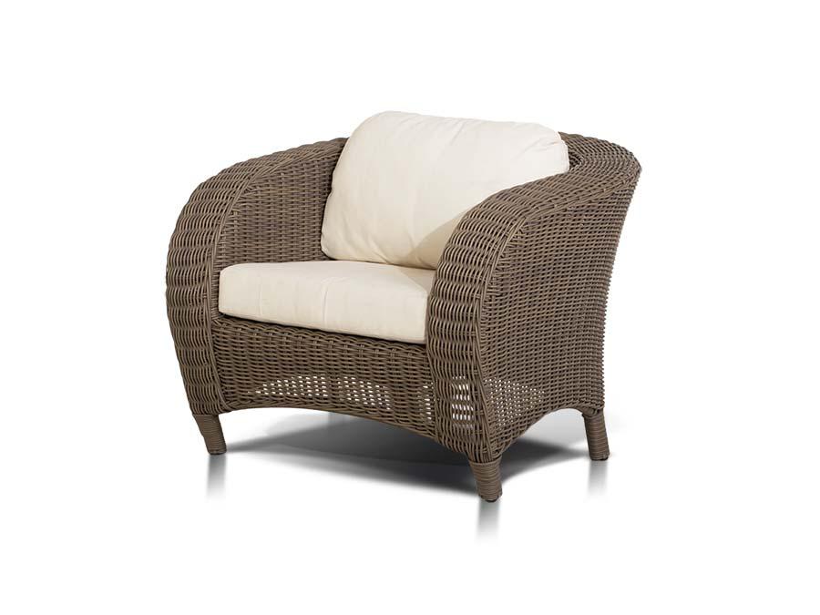 Кресло РиминиКресла для сада<br>&amp;quot;Римини&amp;quot;, кресло в комплекте с подушками, алюминиевый каркас, искусственный ротанг, ручное круглое плетение<br><br>Material: Искусственный ротанг<br>Ширина см: 94.0<br>Высота см: 72.0<br>Глубина см: 86.0