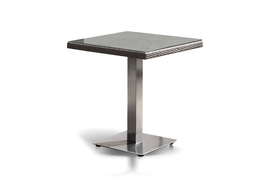 Стол компания (outdoor) серебристый 70.0x75.0x70.0 см.