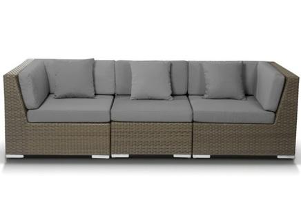 Модульный диван беллуно (outdoor) коричневый