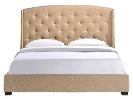 Кровать lexlux (ml) бежевый 203.0x137.0x212.0 см.