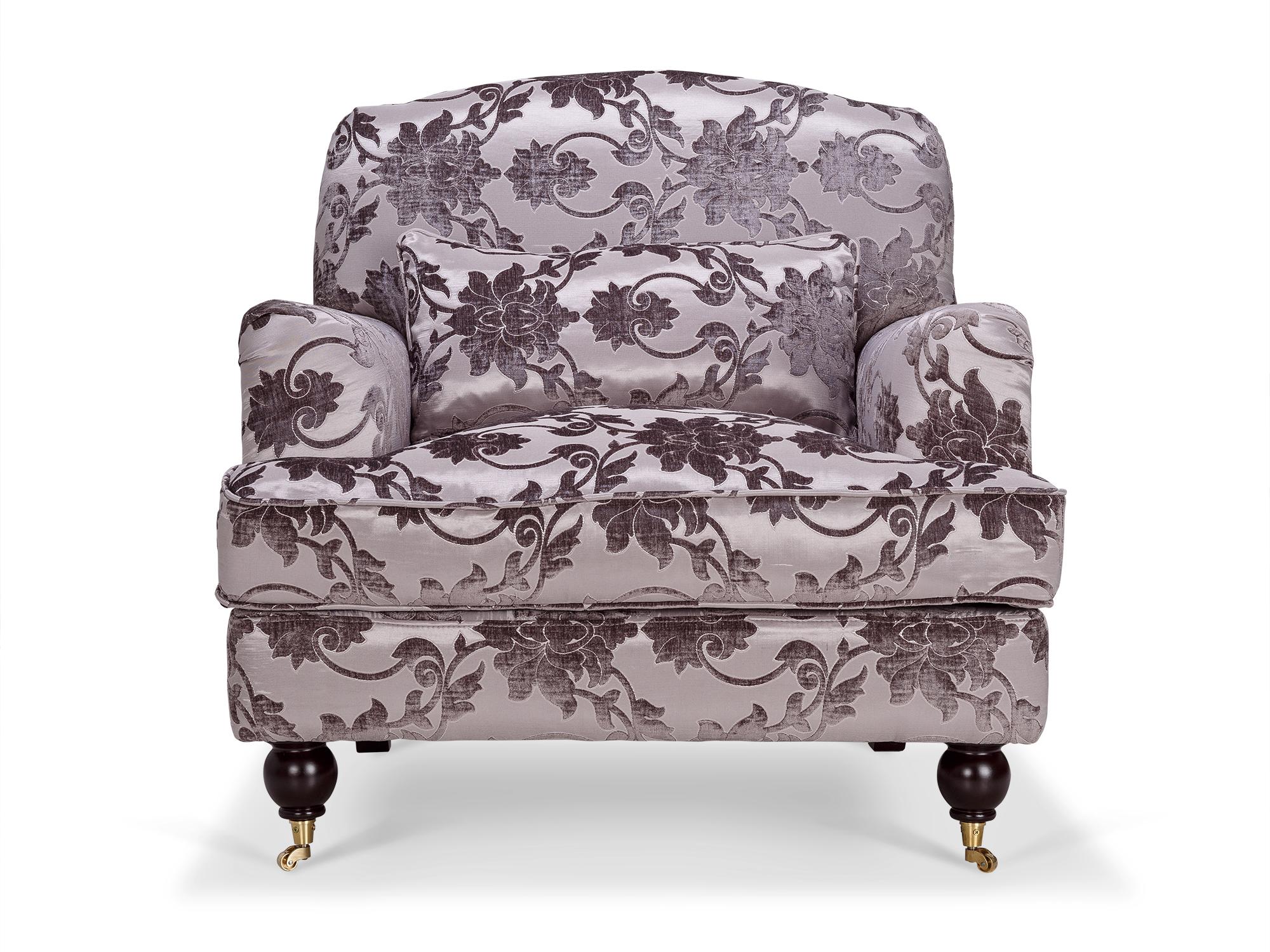 Кресло zeta (kelly lounge) серый 95x97x95 см.